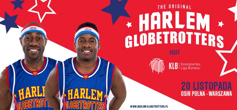 HARLEM GLOBETROTTERS na meczu Koszykarskiej Ligi Biznesu!